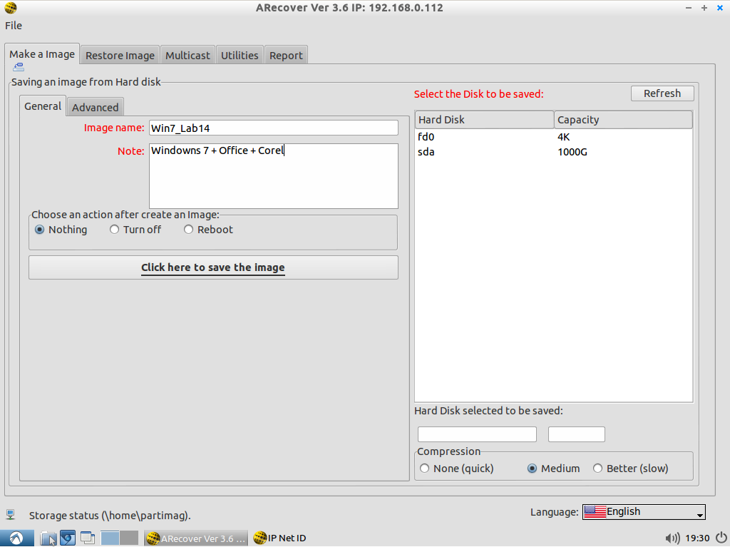 Visual Clonezilla - Disk imaging, bare metal backup and recovery